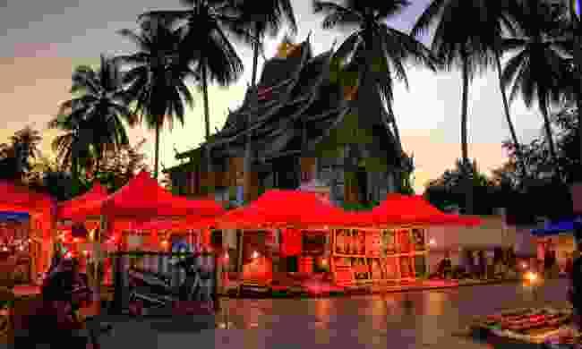 Night Market at Luang Prabang (Shutterstock)
