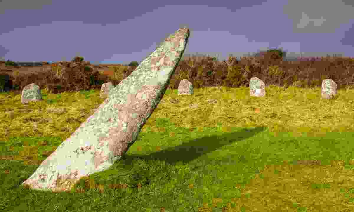 The centre stone in Boscawen-Un (Shutterstock)