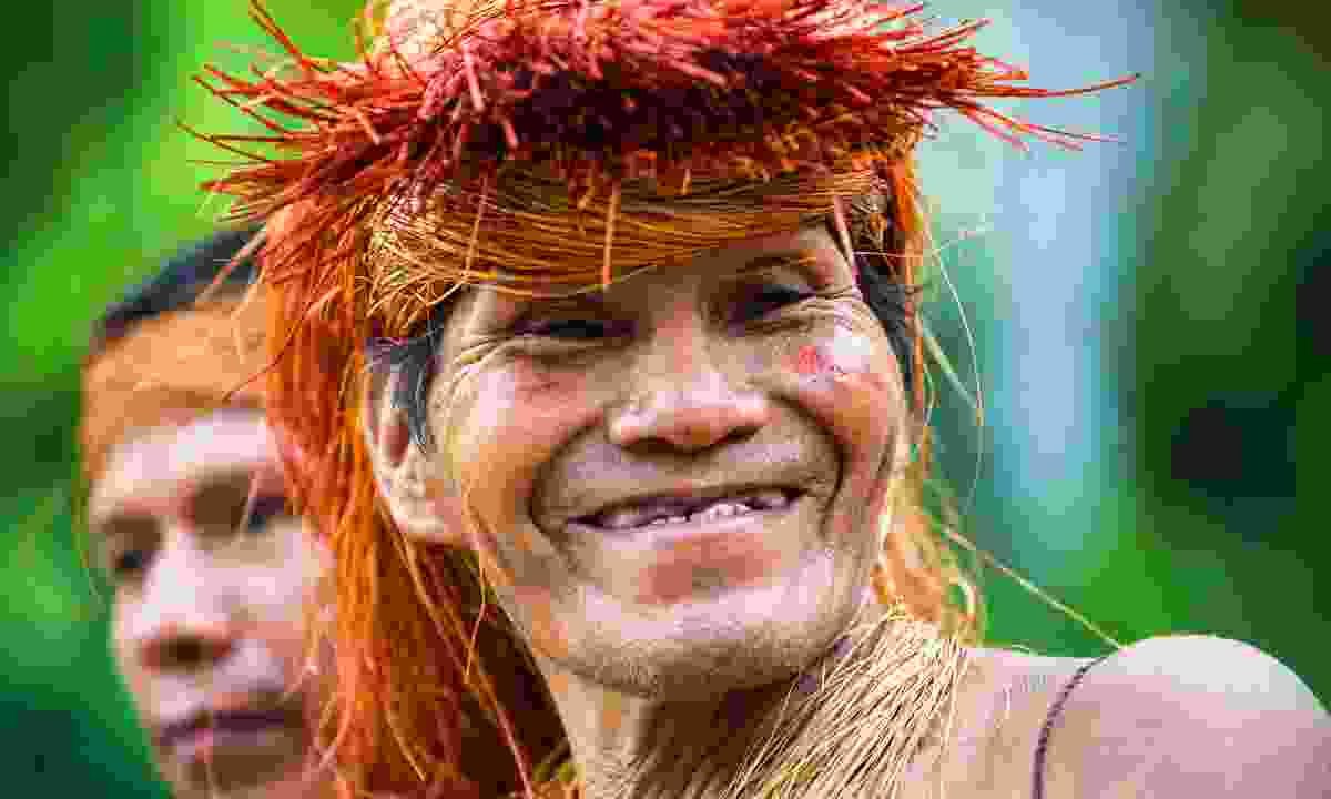 A cheerful local in the Colombian Amazon (Shutterstock)