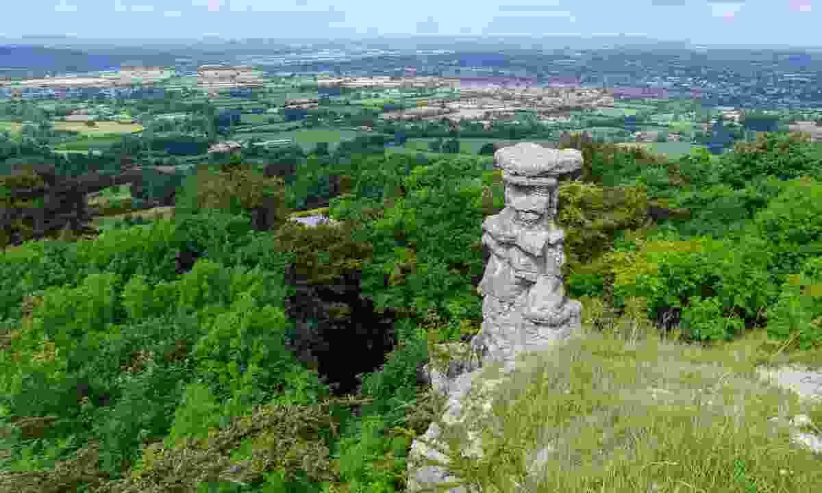The Devil's Chimney in the Cotswold Hills (Shutterstock)