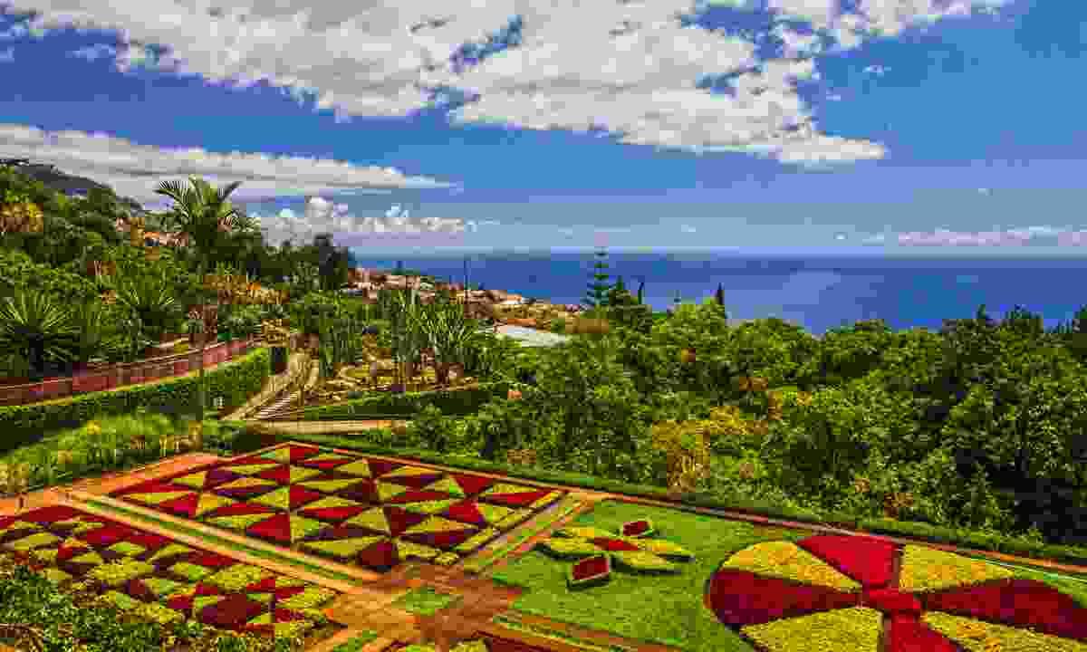 Botanical Garden Monte, Funchal, Madeira (Shutterstock)