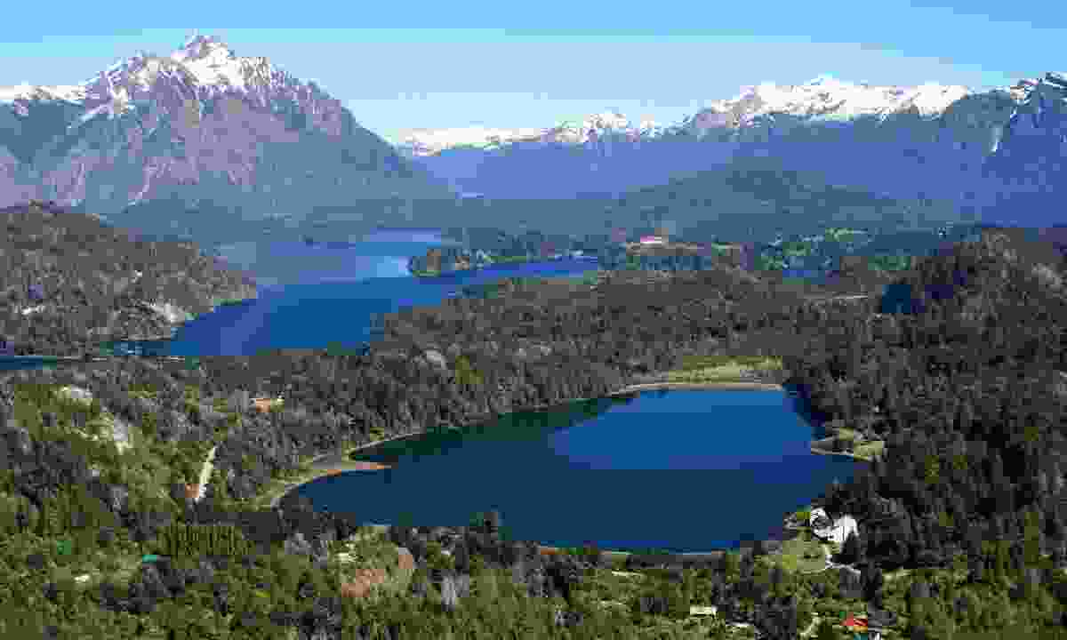 Views over the Argentinian Lake District (Dreamstime)