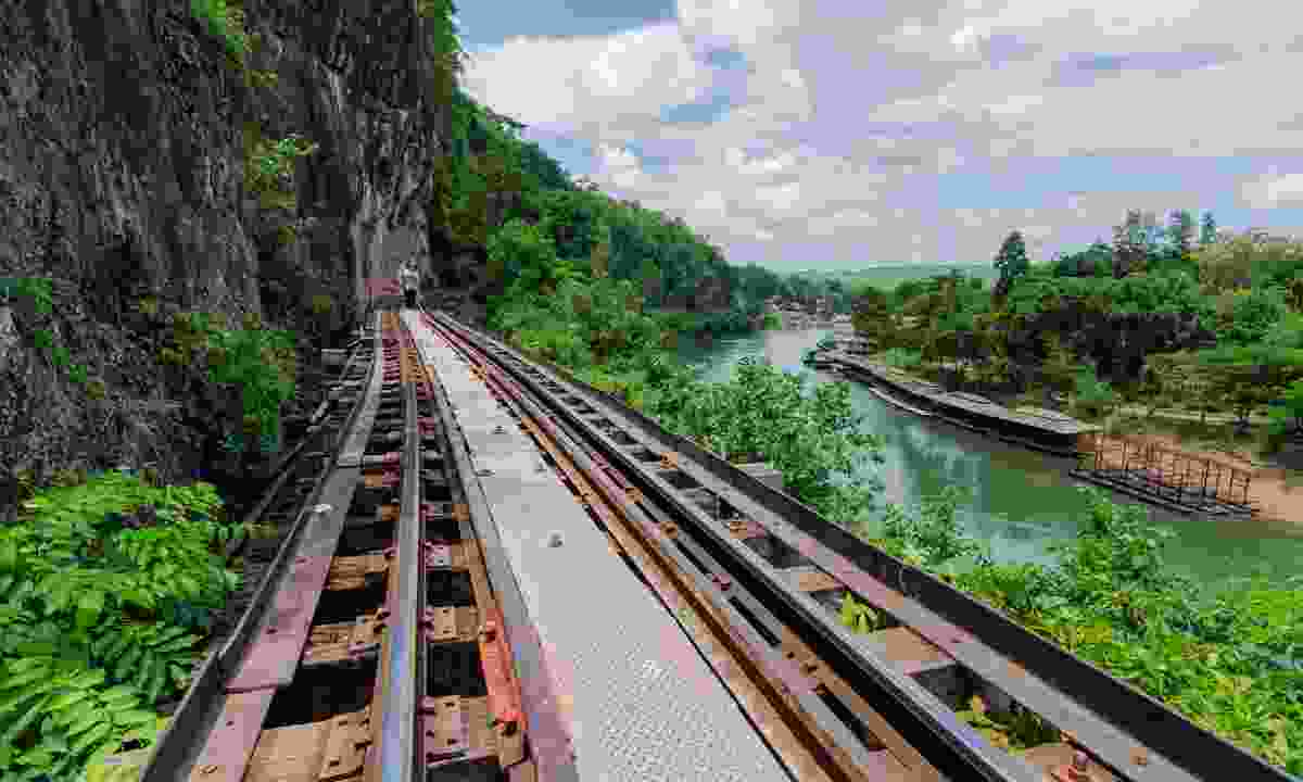 Railway bridge in Kanchanaburi (Dreamstime)