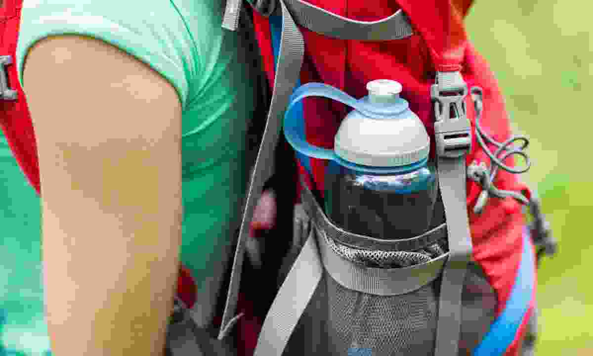 Remember to pack a reusable water bottle (Dreamstime)