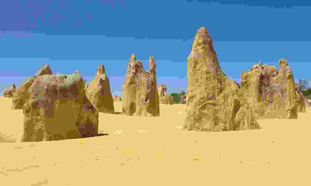 Pinnacles of Nambung National Park (Dreamstime)