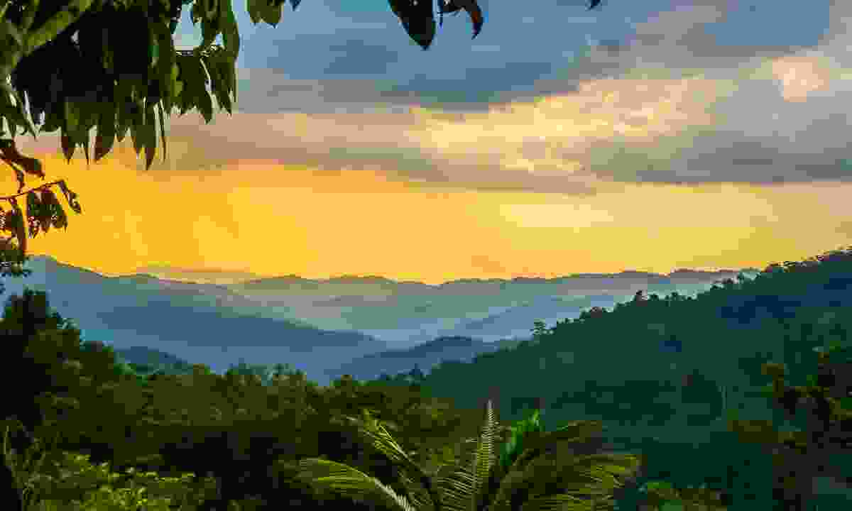 Clouds over Kokoda Track in Papua New Guinea (Dreamstime)