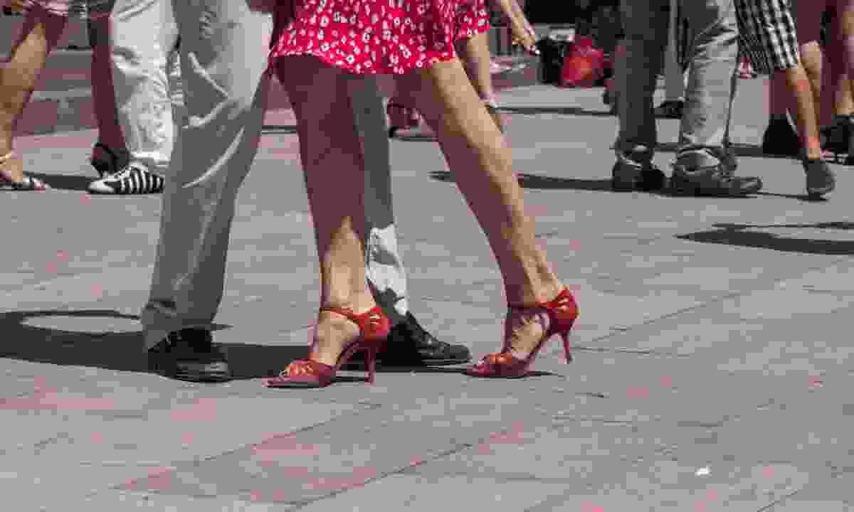 Tango-worthy footwear (Dreamstime)