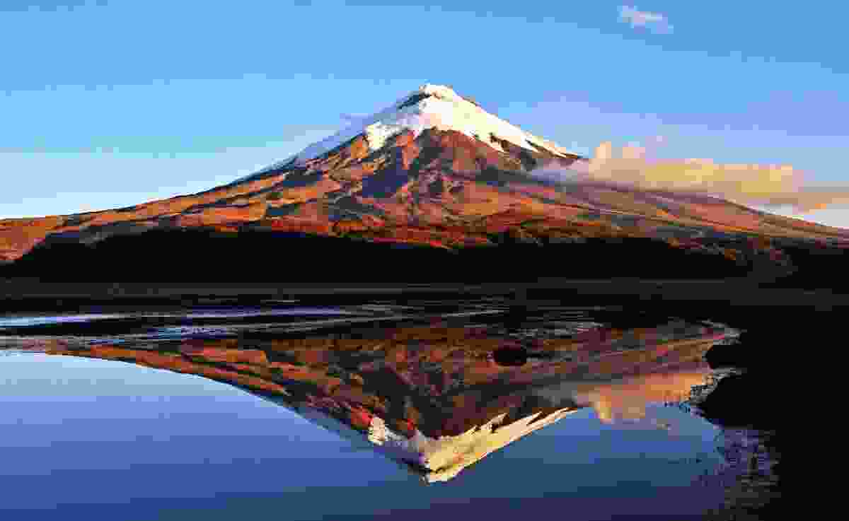 Sunset at Cotopaxi volcano in the Andes, Ecuador (Dreamstime)