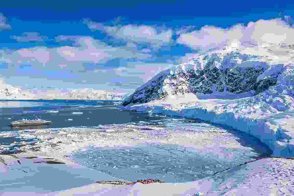 The South Pole, Antarctica (Dreamstime)