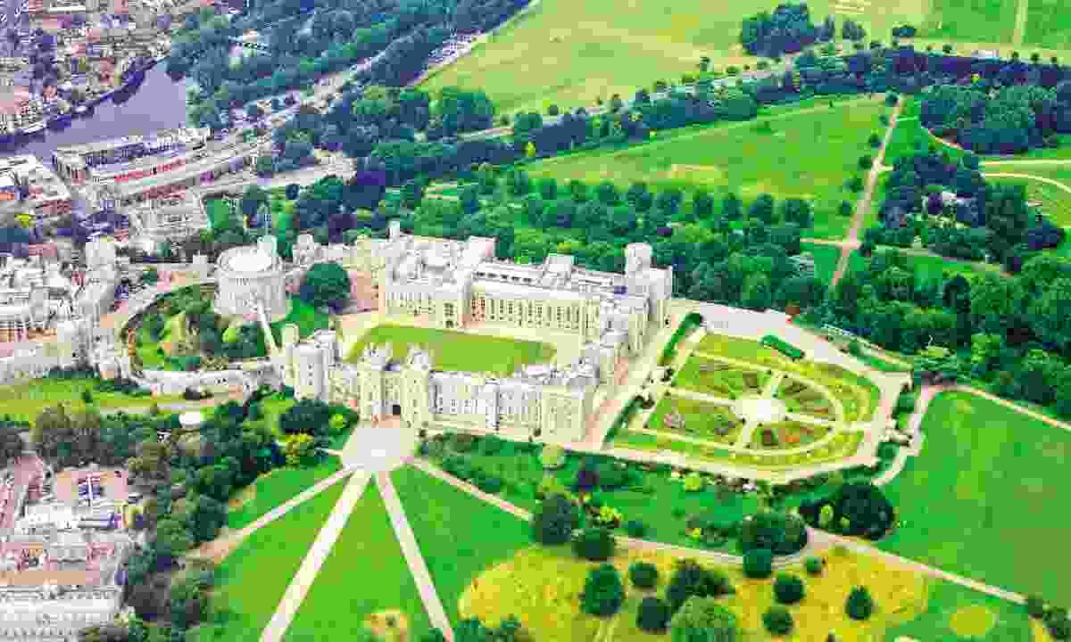 Aerial view of Windsor Castle (Dreamstime)