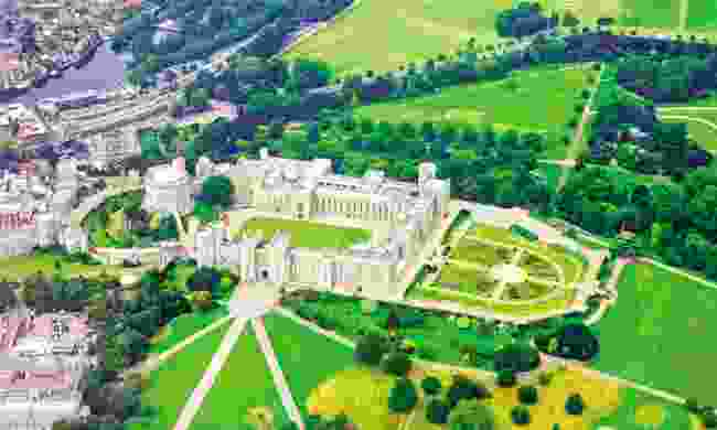 Aerial view of Windsor Castle (Dreamstime)