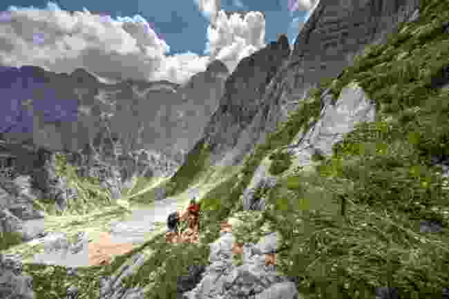 Hiking in Julian Alps (Jošt Gantar)