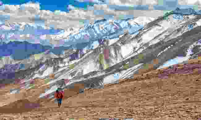 Hiking in Ladakh Valley (Shutterstock)