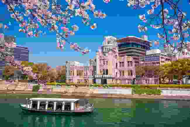 A boat trip in Hiroshima, Japan (Shutterstock)