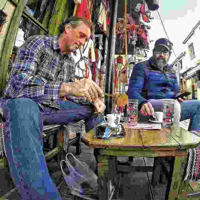 Tim can't wait to drink Turkish coffee again (Tim Pendelbury)