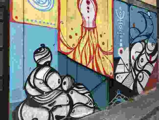 Another Hazul Luzah mural (Simon Chubb)