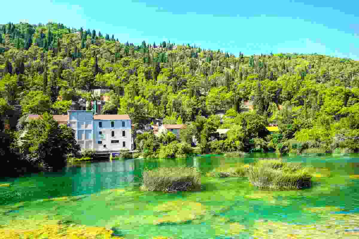 Krka National Park is particularly warm and beautiful during summer (Dreamstime)