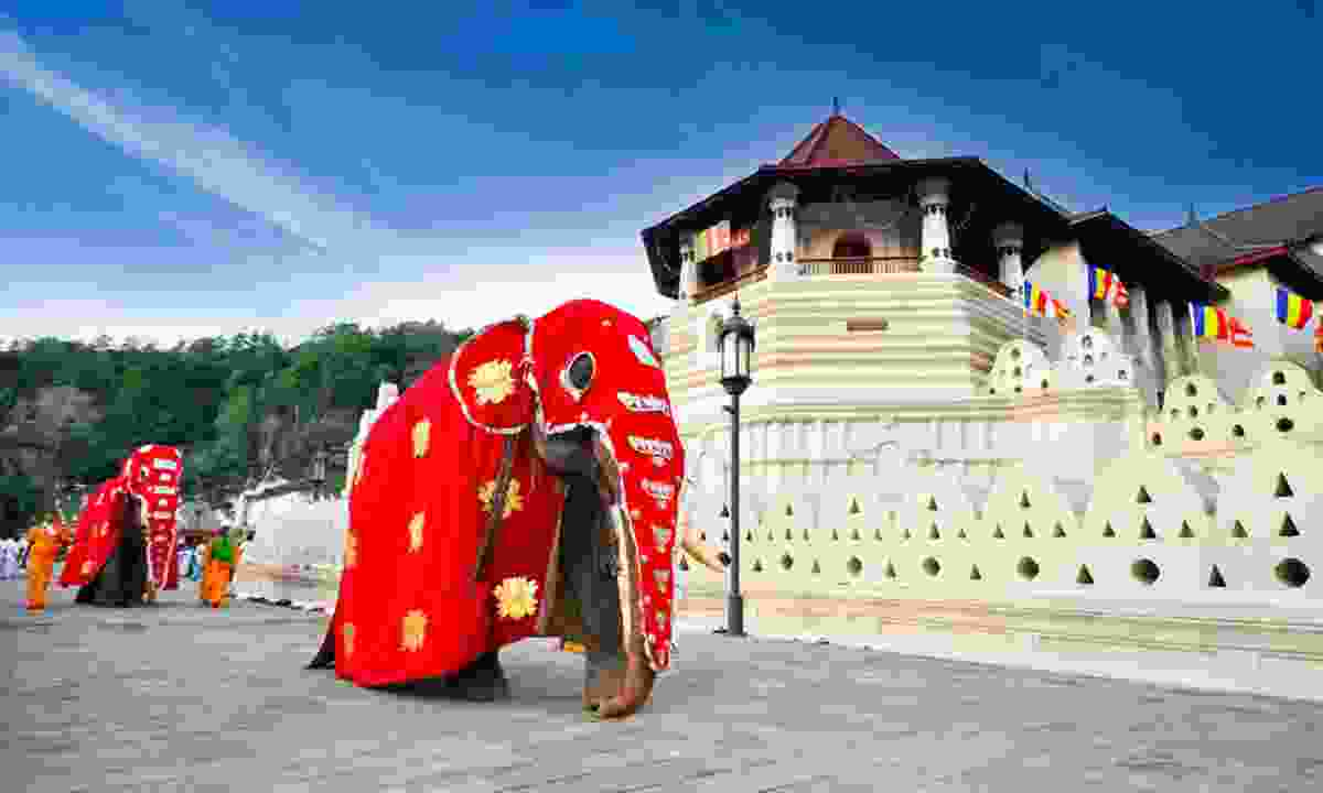 Temple of the Tooth, Kandy (Shutterstock)