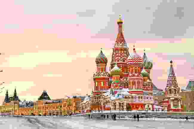 Moscow in winter (Shutterstock)