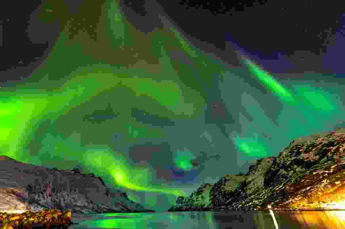 Northern Lights over Tromsø, Norway (Shutterstock)