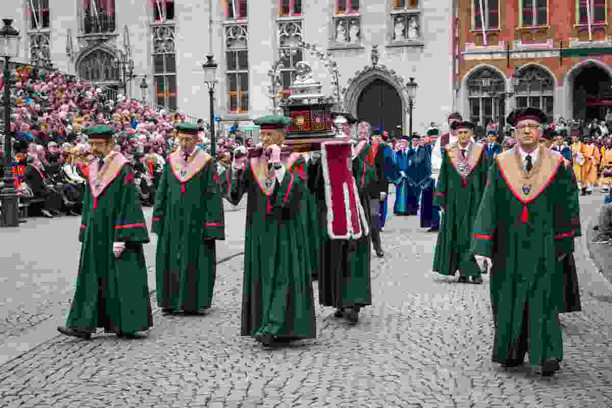 Procession of the Holy Blood in Bruges, Belgium (Shutterstock)