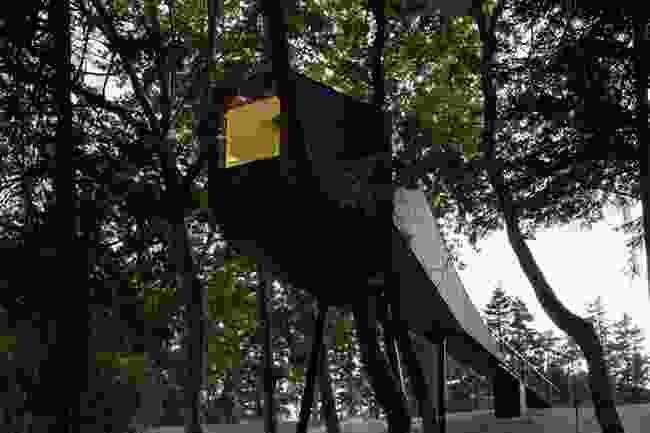 Treehouse at Pedra Salgadas (Pedras Salgadas Park)