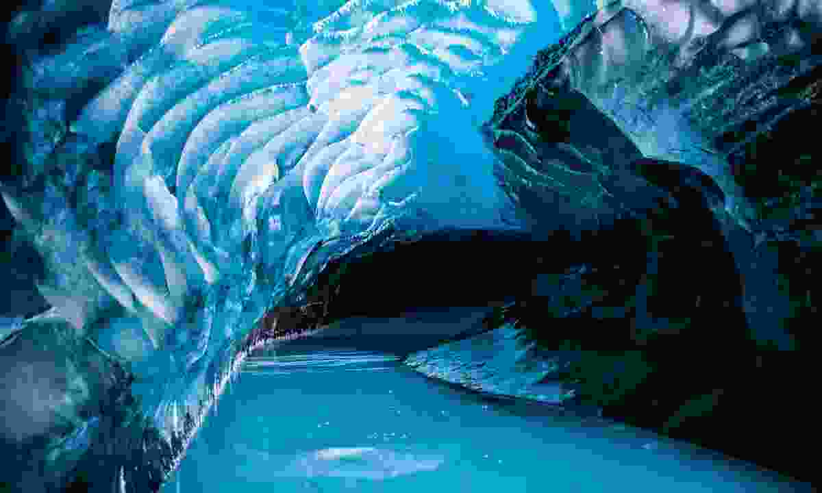 Ice caves of the high arctic at Svalbard (Shutterstock)