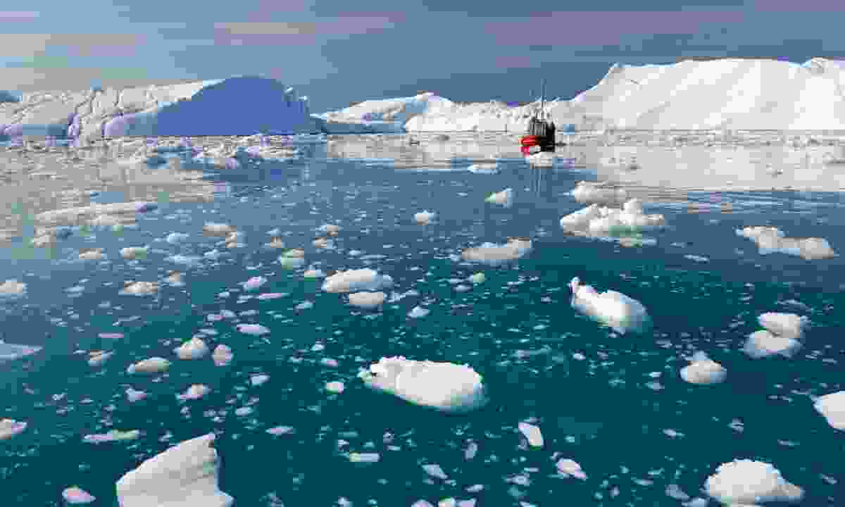The giant 'bergs of Disko Bay (Shutterstock)