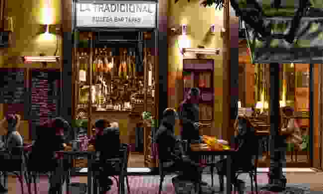 Alaistar missed out on the tapas and wine while busking through Spain (Shutterstock)