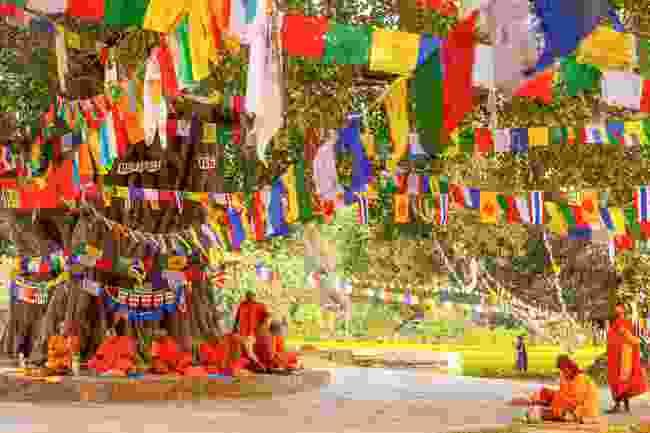 Lumbini, Nepal (Shutterstock)