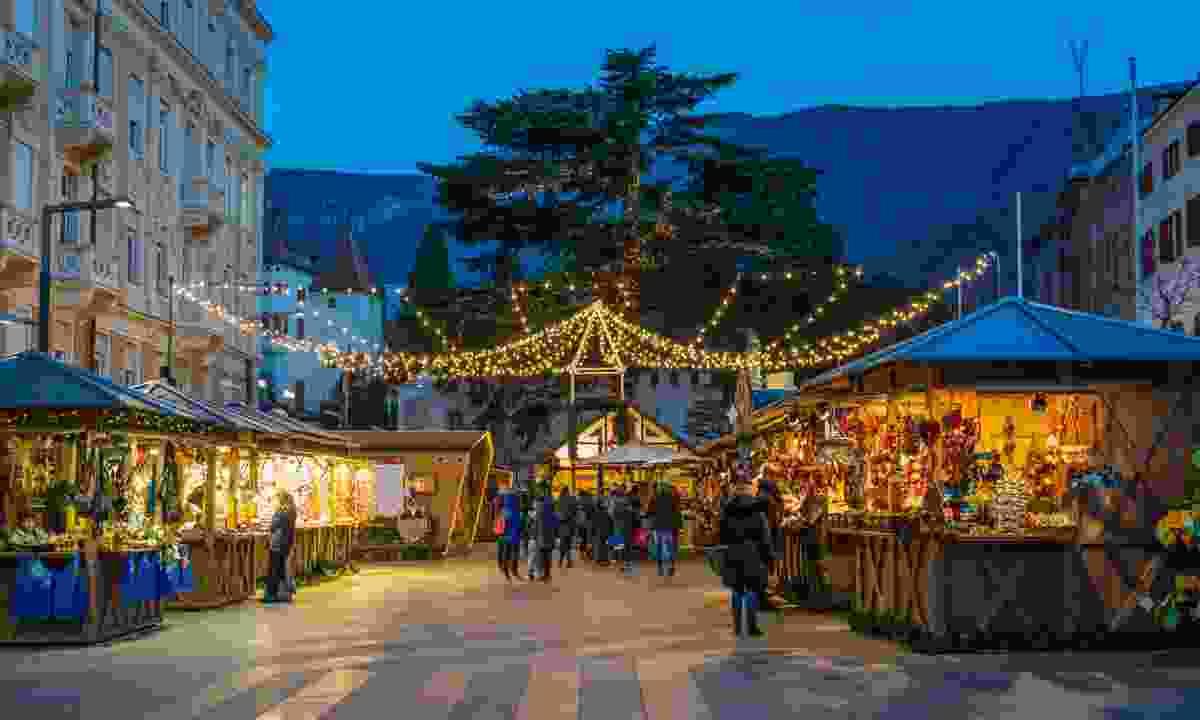 Christmas in Merano, Italy (Shutterstock)