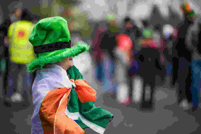 St. Patrick's Day celebrations in Dublin, Ireland (Shutterstock)