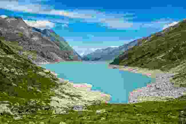 The Mattmark dam is the largest earth dam in Europe (Shutterstock)