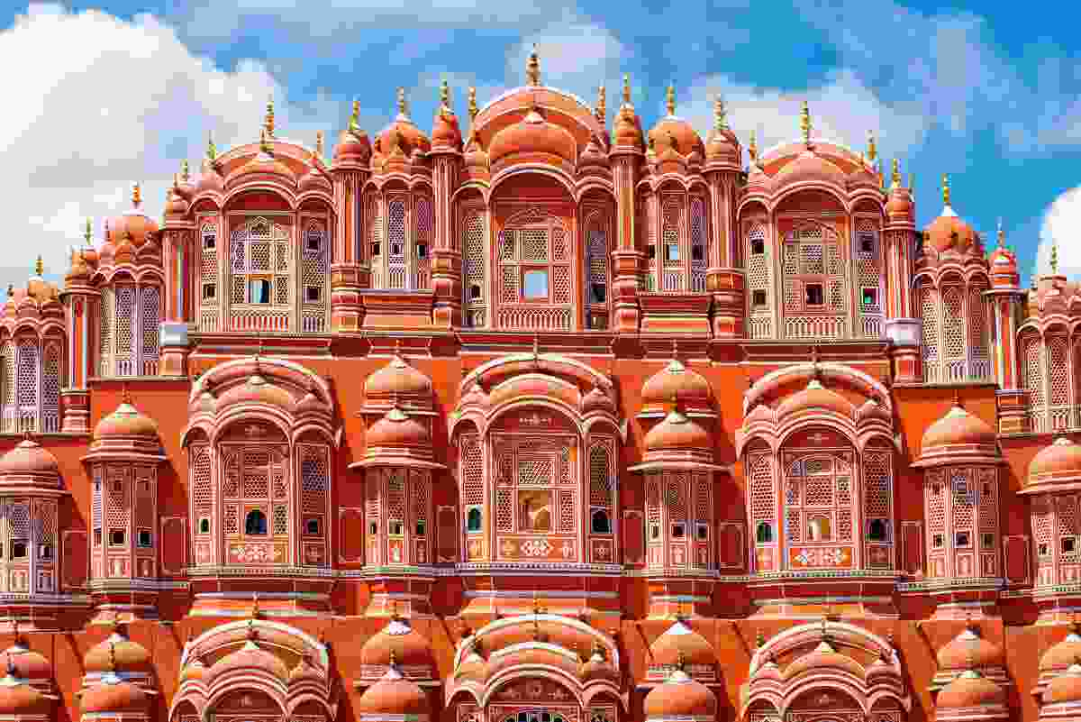 Hawa Mahal Palace (Palace of the Winds) in Jaipur, Rajasthan (Shutterstock)