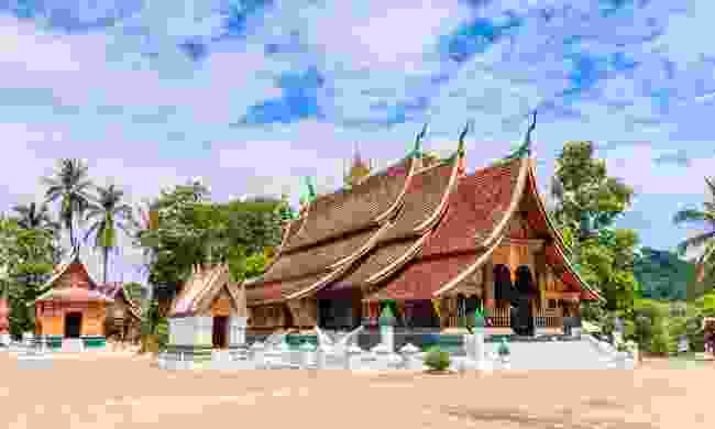 Wat Xieng Thong is the most splendid out of all of the city's many temples (Shutterstock)