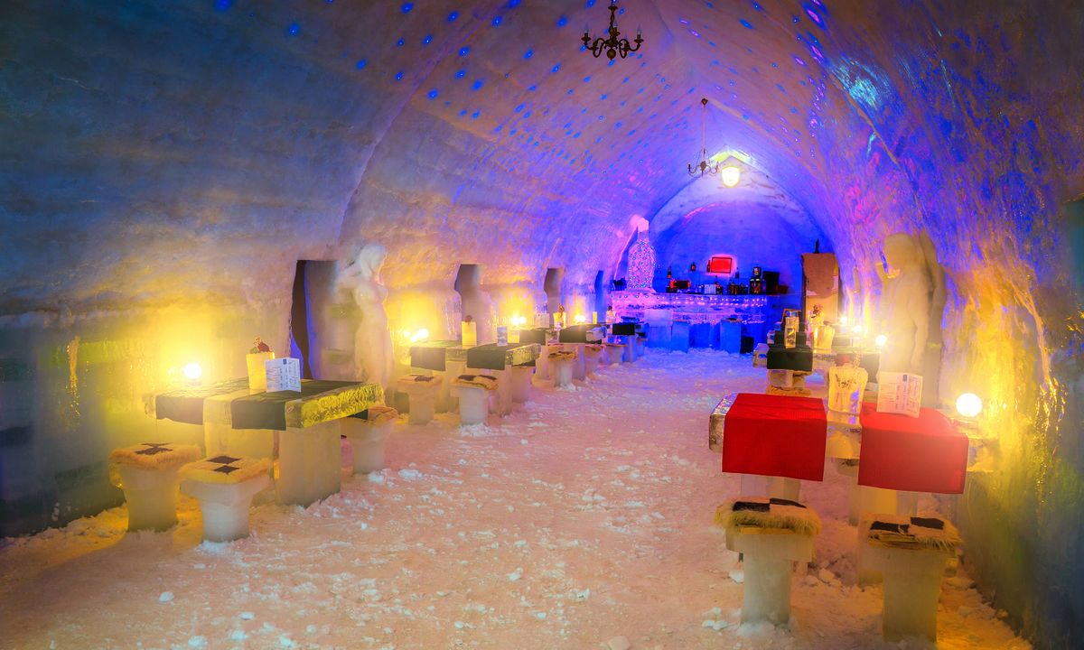 10 Hotels Made Entirely Of Ice Wanderlust