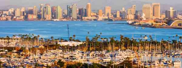 San Diego's skyline (Shutterstock)