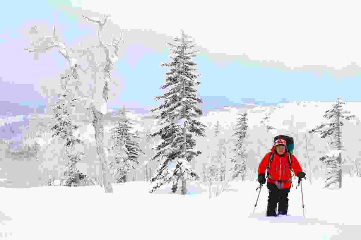 Snowshoeing in Hokkaido's Daisetsuzan NP, Japan (Graeme Green)