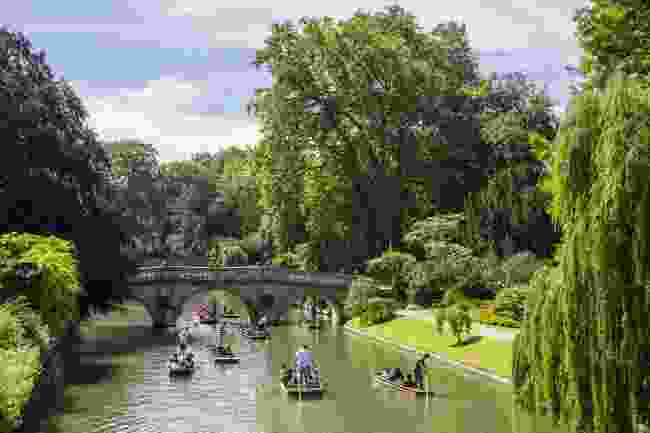 Punting on the River Cam (Shutterstock)