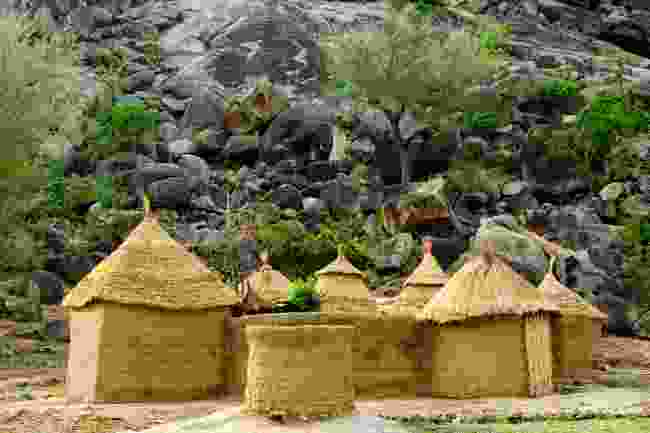 Mud houses in the Mandara Mountains, Cameroon (Shutterstock)