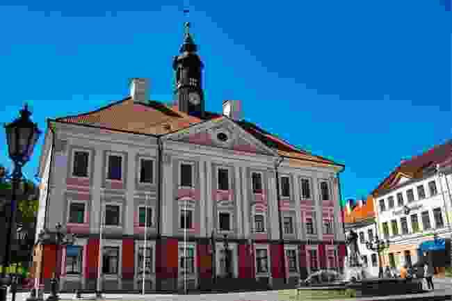 Tartu Town Hall, Estonia (Neil Howare)