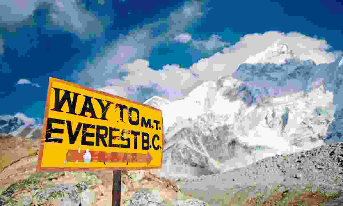 On the road to Everest Base Camp (Shutterstock)