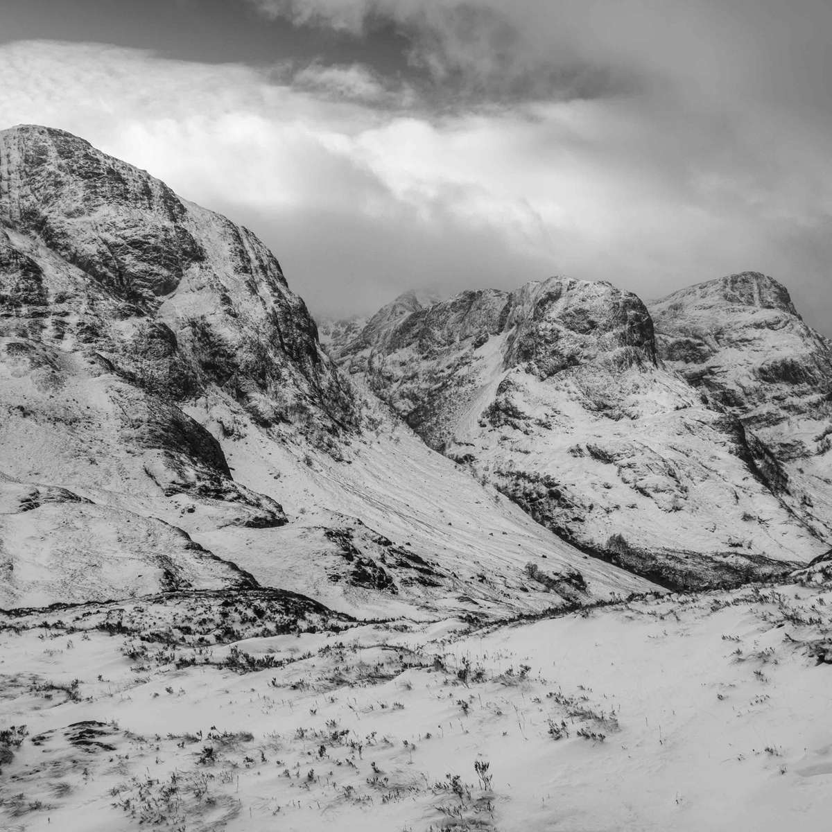 The Three Sisters, Glen Coe (Clive Minnitt)