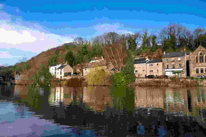 Mill Pond in the village of Cromford, Derbyshire (Shutterstock)