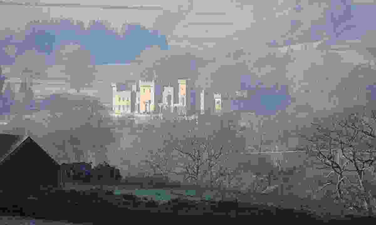 Downton Castle in the mist (Hannah Mackley)