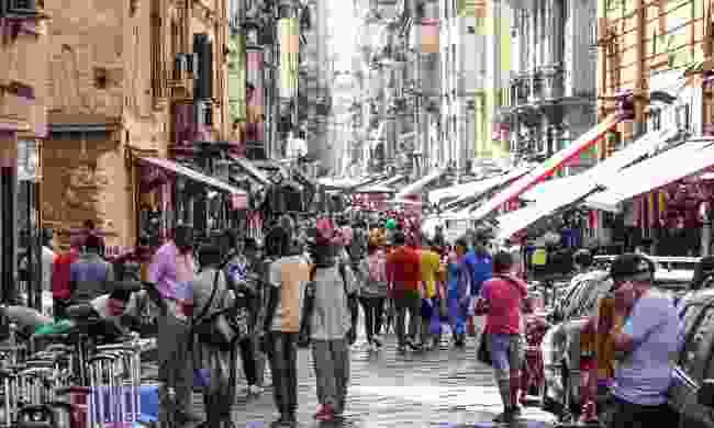 Porta Nolana Market in Naples (Dreamstime)