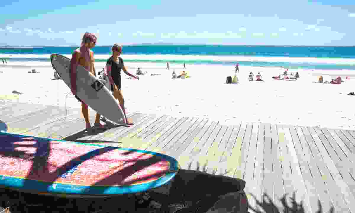 The boardwalk at Noosa (Dreamstime)