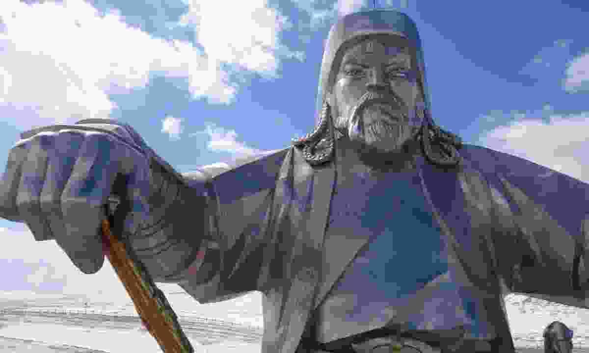 Genghis Khan statue (Dreamstime)