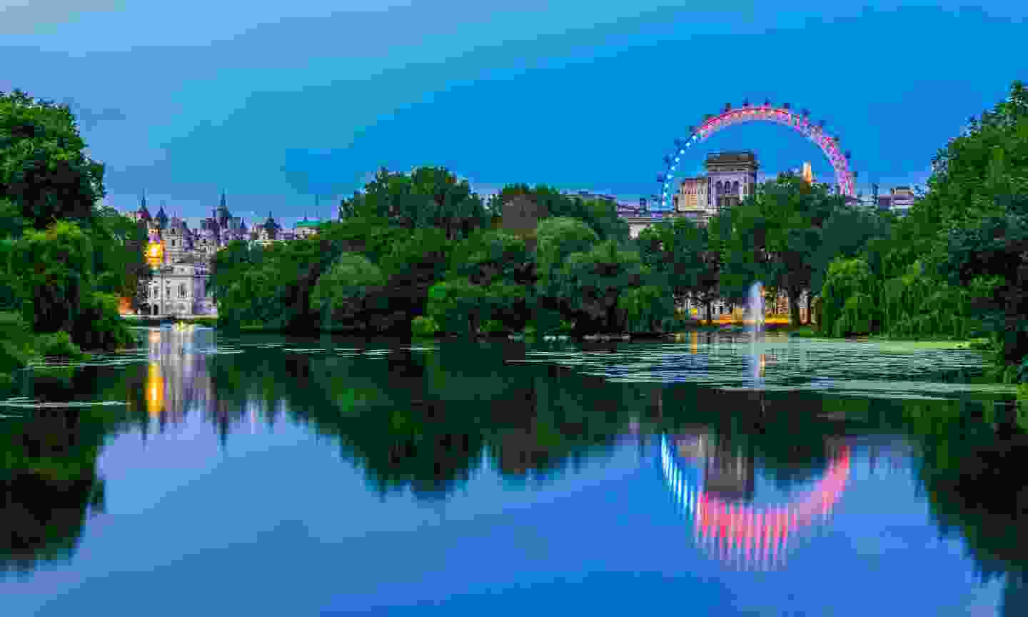 The view from St James's Park (Dreamstime)