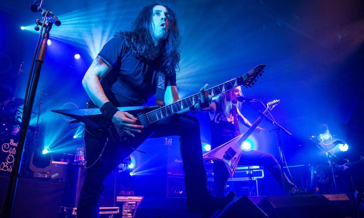 Death Metal. A popular genre in Finland. (Dreamstime)